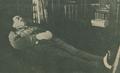 O Coronel António Maria Baptista no seu leito de morte, no Ministério do Interior - Ilustração Portugueza (14Jun1920).png