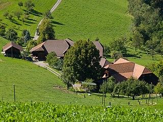 Oberbalm Place in Bern, Switzerland