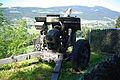 Obusier 10.5 de 1942 au fort de Pré-Giroud 18-08-2012.JPG