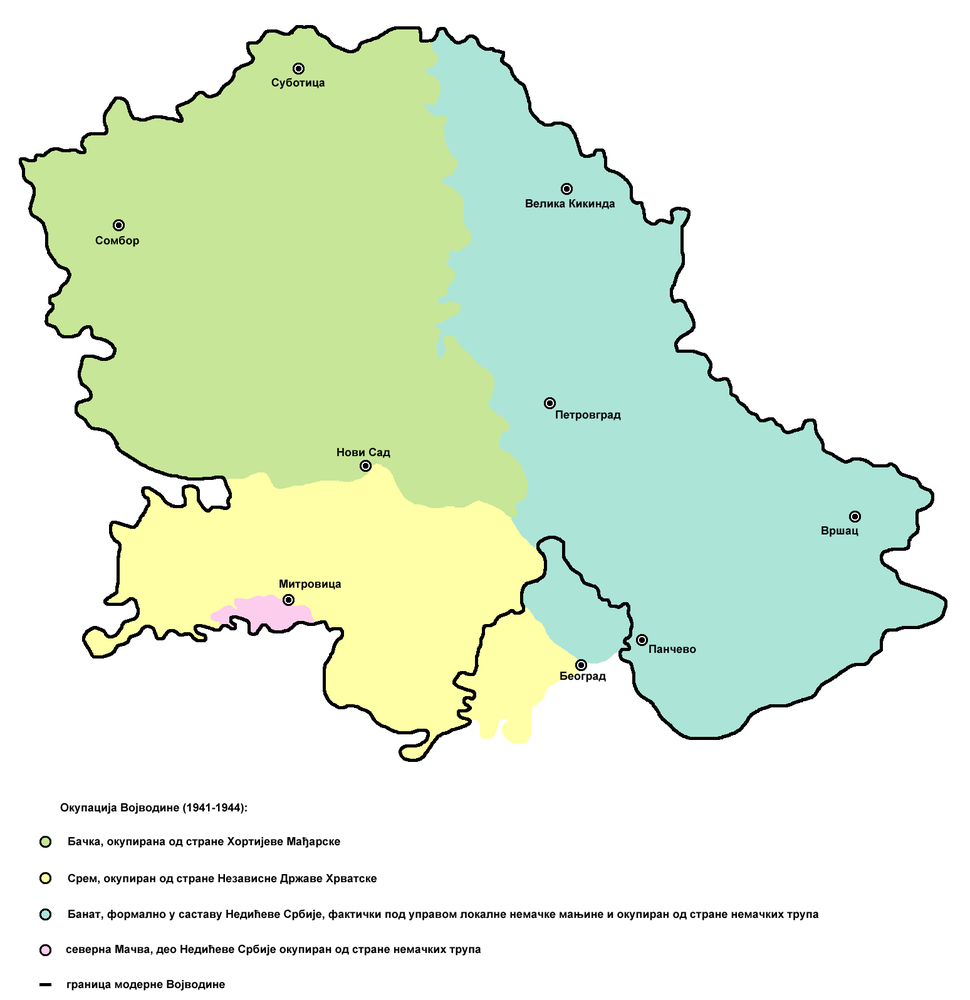 Occupation of vojvodina-sr