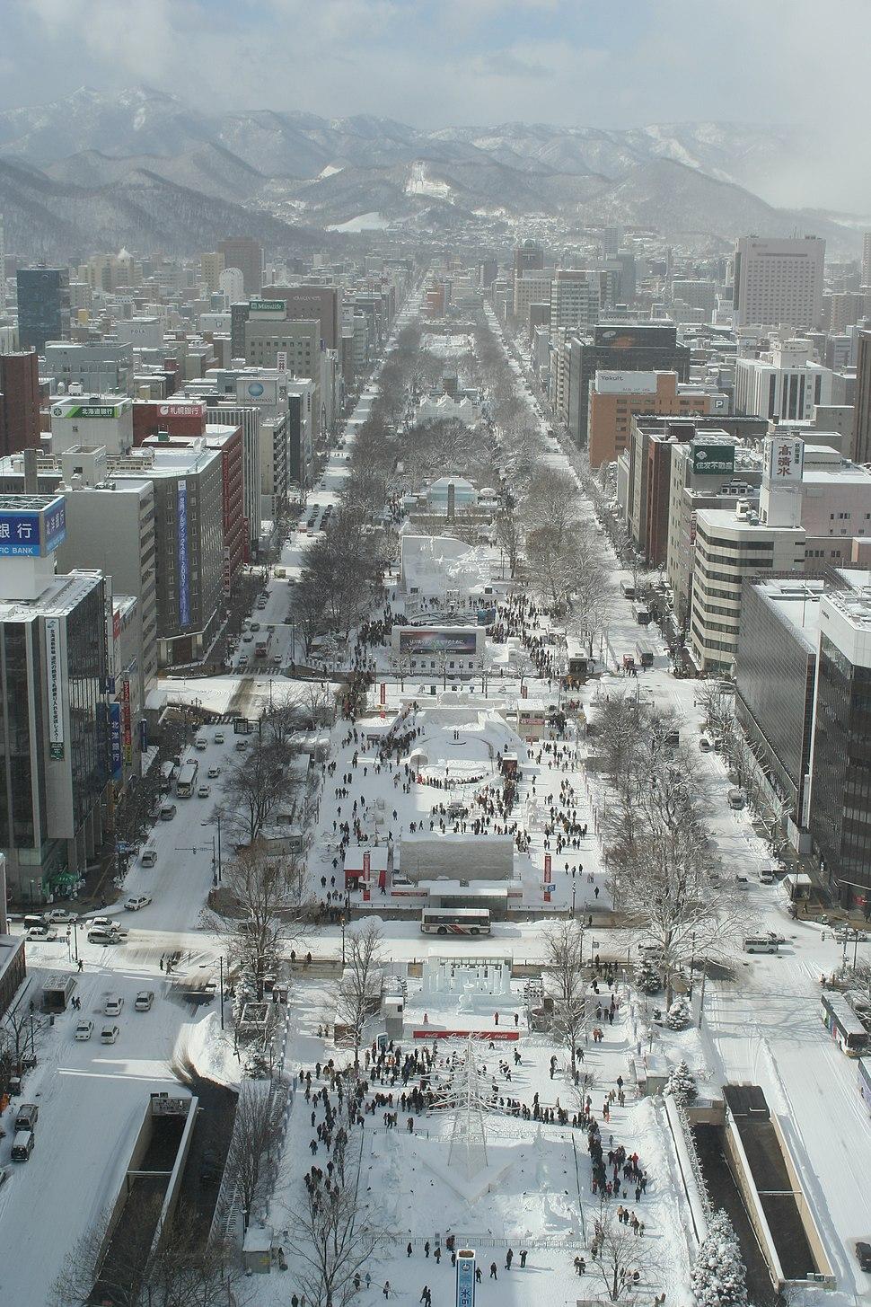 Odori Park Sapporo Snow Festival 2007