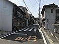 Oita Prefectural Road No.540 near Onoya Station 2.jpg