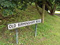 Old Birmingham Road sign.JPG