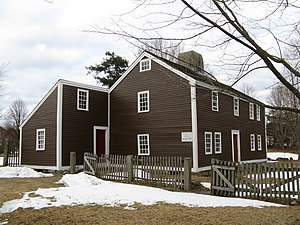 Chelmsford, Massachusetts - Old Chelmsford Garrison House