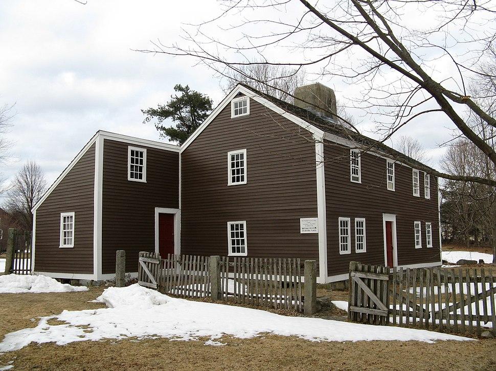 Old Chelmsford Garrison House, MA