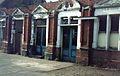Old station buildings on Stratford station in June 1988.jpg