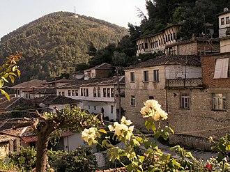 Berat County - The old town of Berat.