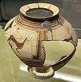 Olla frammentaria adecorazione geometrica, da tomba 1 di via vecchia buoncammino ad altamura, VI secolo ac. 01.jpg