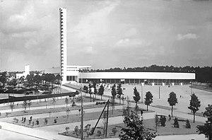 Helsinki Olympic Stadium - Helsinki Olympic Stadium in 1930s.