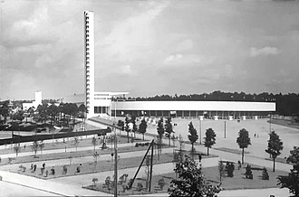 Helsinki Olympic Stadium - Helsinki Olympic Stadium in 1938 soon after its completion. The stadium, first built for the 1940 Olympics, had to wait until 1952 for its intended use as an arena for the Olympic games as the war led to the cancellation of the event.