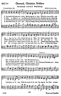 Onward, Christian Soldiers 19th-century English hymn