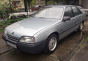 Opel Omega - Image: Opel Omega A1 CD sedan, Berlin