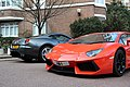 Orange Lamborghini Aventador (6862034940).jpg