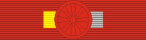 Ordem do Mérito Cultural - Image: Order of Cultural Merit Grand Cross (Brazil) ribbon bar