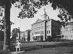 Oregon State Hospital - Image: Oregon State Hospital c. 1900