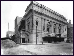 Orpheum Theater (St. Louis) - The Orpheum Theater in 1917