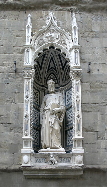St Mark by Donatello at Orsanmichele Church