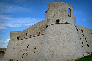 Battle of Ortona - Ortona's castle today