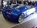 Osaka Auto Messe 2017 (293) - Bugatti Veyron Bleu Centenaire 100th Anniversary model S&Company No.2.jpg