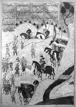 Occhiali - Image: Ottoman troops marching on Tunis in 1569