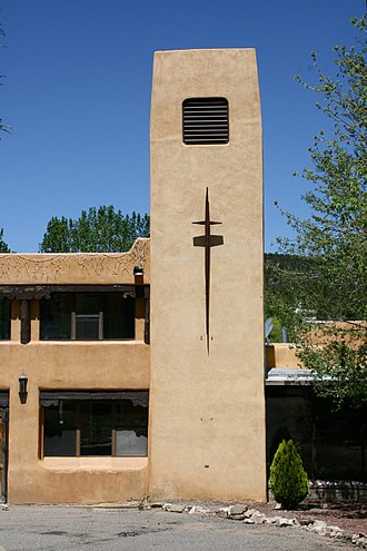 Pecos, New Mexico - Our Lady of Guadalupe Benedictine Abbey near Pecos
