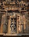 Outside carved wall of the Arunachaleshswara Shrine - Bhoga Nandeeshwara Temple.jpg