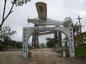 Hacienda Nápoles - Main entrance