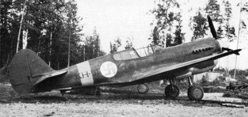 P-40M in Finnish markings in 1944