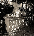 P1250257 Paris XVI rue Raynouard n47 maison de Balzac sphynx rwk.jpg