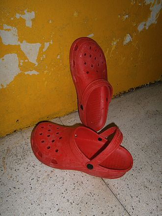 Crocs - A Crocs imitation named Duralite sold in the Philippines