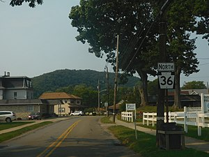 Pennsylvania Route 36 - PA 36 in Tionesta