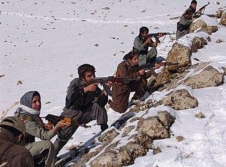 Democratic Party of Iranian Kurdistan - PDKI fighters (2013)