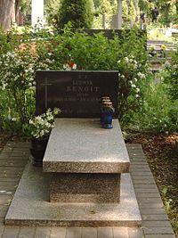 PL Lodz Doly Cmentary Ludwik Benoit.jpg