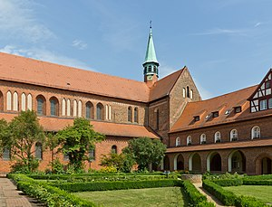 Lehnin Abbey - St Mary's Church and Cloisters