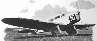 PZL.19 Polish sports plane