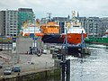 P and O Ferry Terminal and ro-ro ramp, Aberdeen harbour - geograph.org.uk - 116323.jpg