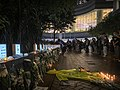 Pacific Place outside flowers memorial Marco Leung Ling-kit 20200615.jpg