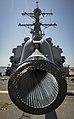 Paint drying on 5-inch gun of USS Porter (DDG-78) 160518-N-FQ994-033.jpg
