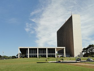 Federal District (Brazil) - Buriti Palace, seat of the government of the Federal District.