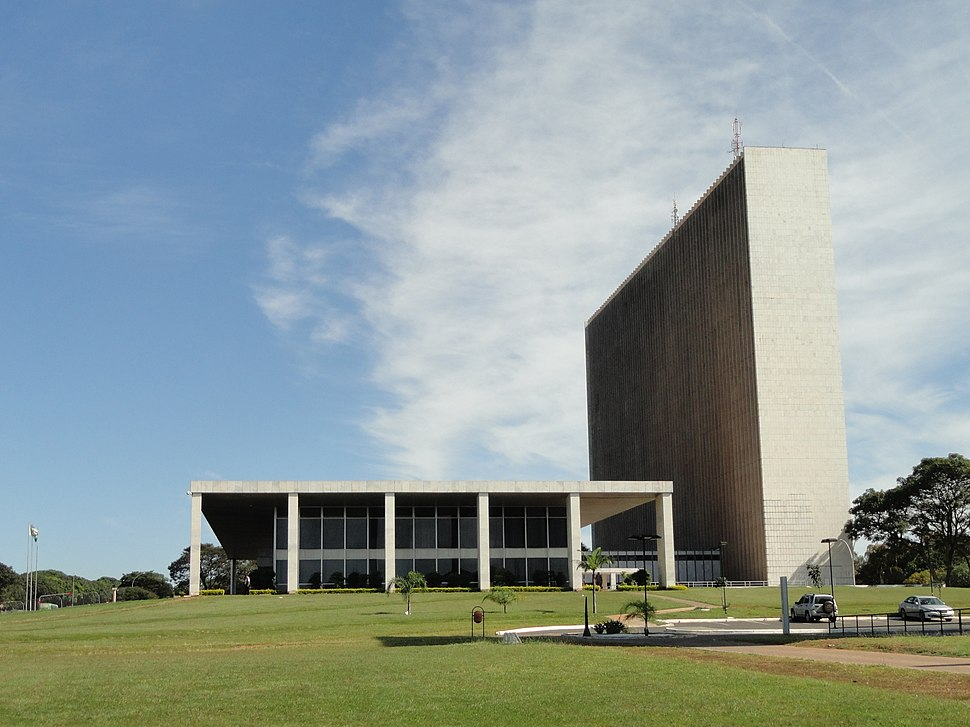 Palácio do Buriti (vista lateral)