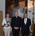 Palazzi Samantha, Card. Angelo Comastri, Bonaldi Cristian, Città del Vaticano, 25 settembre 2014.JPG