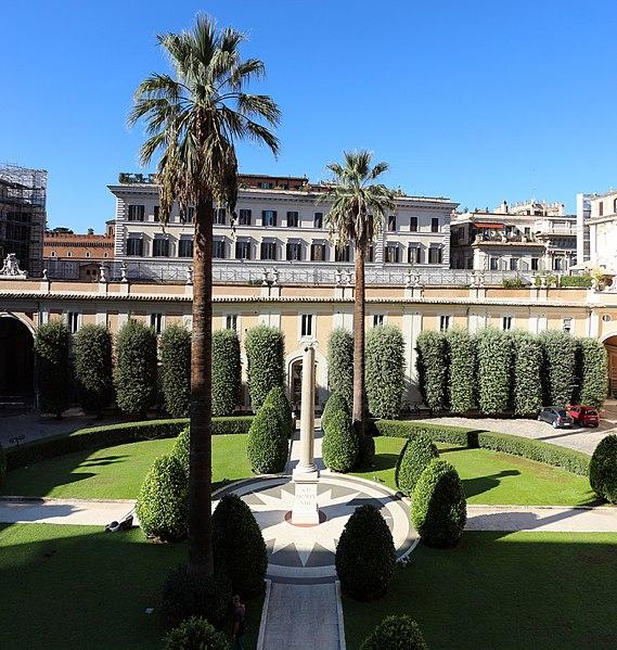 File Palazzo Colonna Giardino Verso Santi Apostoli