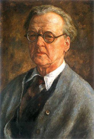 Józef Pankiewicz - Self-portrait (1900s)