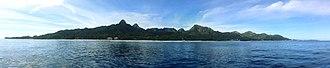 Rarotonga - Image: Panorama Rarotonga