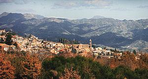 Sant'Alfio - Image: Panorama Sant'Alfio