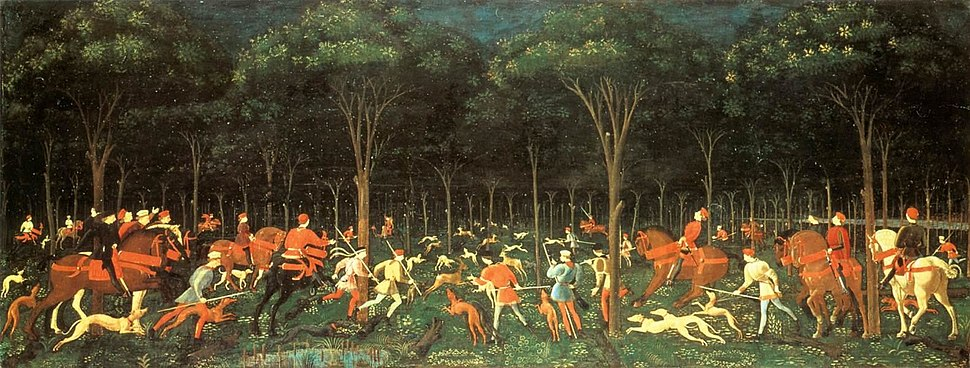 Paolo Uccello - The Hunt in the Forest - WGA23239