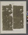 Papyrus. Hieratischer Papyrus aus Theben (Thebes). No. VII, Lin. 1-45. (jetzt im K. Museum zu Berlin.) (NYPL b14291191-44347).tiff
