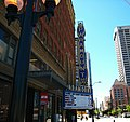 Paramount Theater Seattle looking downtown.JPG
