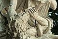 Parc de Versailles, demi-lune du bassin de Neptune, La Renommée du Roi, Domenico Guidi 07.jpg
