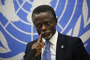 Parfait Onanga-Anyanga - Parfait Onanga-Anyanga, Special Representative for the Mission in the Central African Republic (MINUSCA)